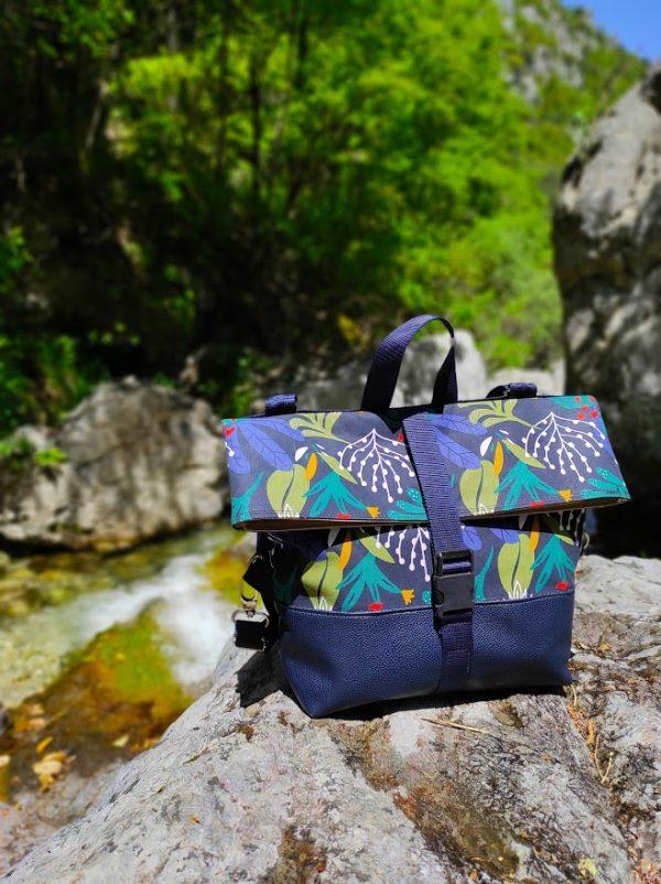 Flow Tribe Irida handmade Backpack 1