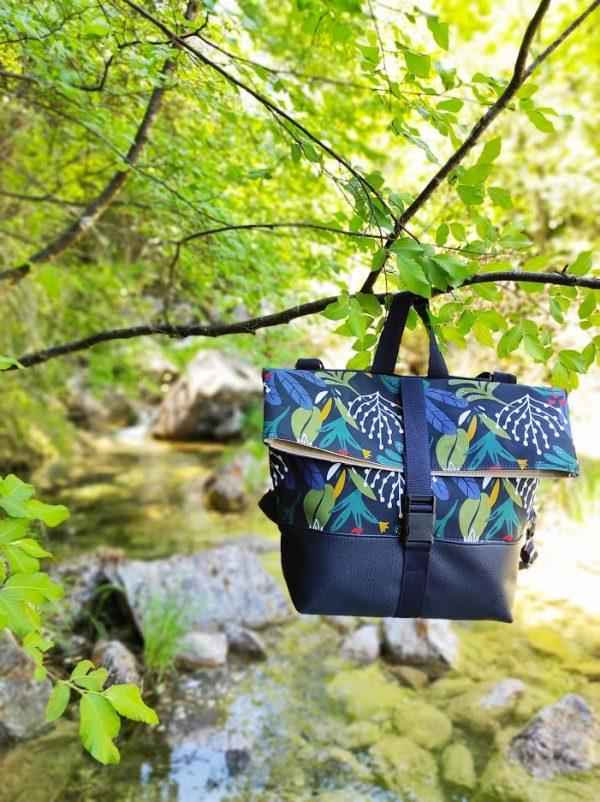 Flow Tribe Irida handmade Backpack