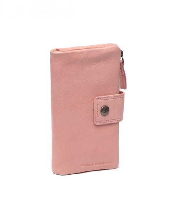 Δερμάτινο Πορτοφόλι the-chesterfield-brand-leather-wallet-pink-munster